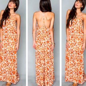 Show me your Mumu T-Rex Dress Giraffe Print
